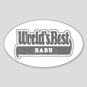 WB Grandpa [Bengali] Oval Sticker